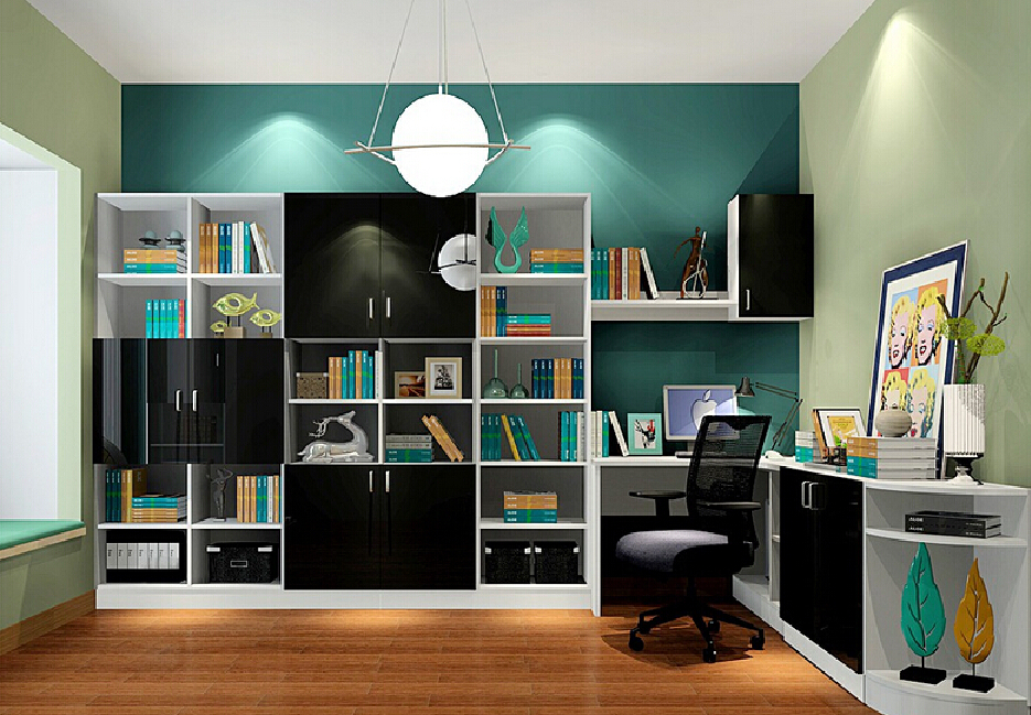 Study Room Interiors Dp Furnitures Interior Designers